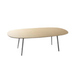 Sellex's  FLY Elliptic Meeting Table by Lievore Altherr Molina