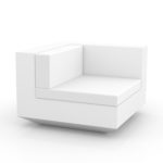 Vondom's  VELA Sectional Sofa Left by Ramon Esteve