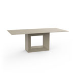 Vondom's  VELA Table by Ramon Esteve