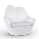 Vondom's  Sabinas Lounge Chair by Javier Mariscal