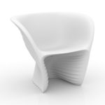 Vondom's  Biophilia Lounge Chair by Ross Lovergrove