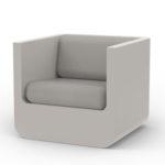 Vondom's  Ulm Lounge Chair by Ramon Esteve