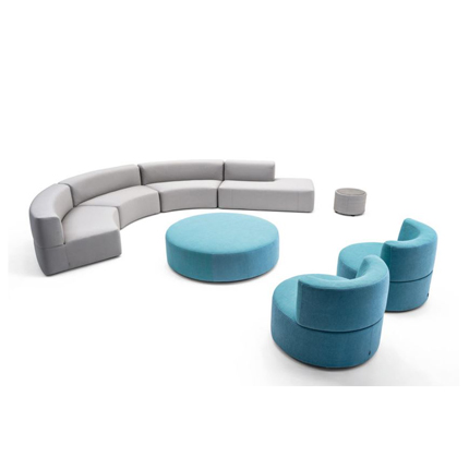 Varaschin's  BELT MODULAR SOFA (OUTDOOR) by LO SCALZO MOSCHERI