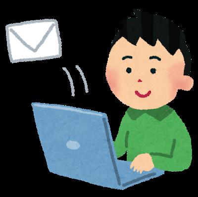 メール営業のイメージ