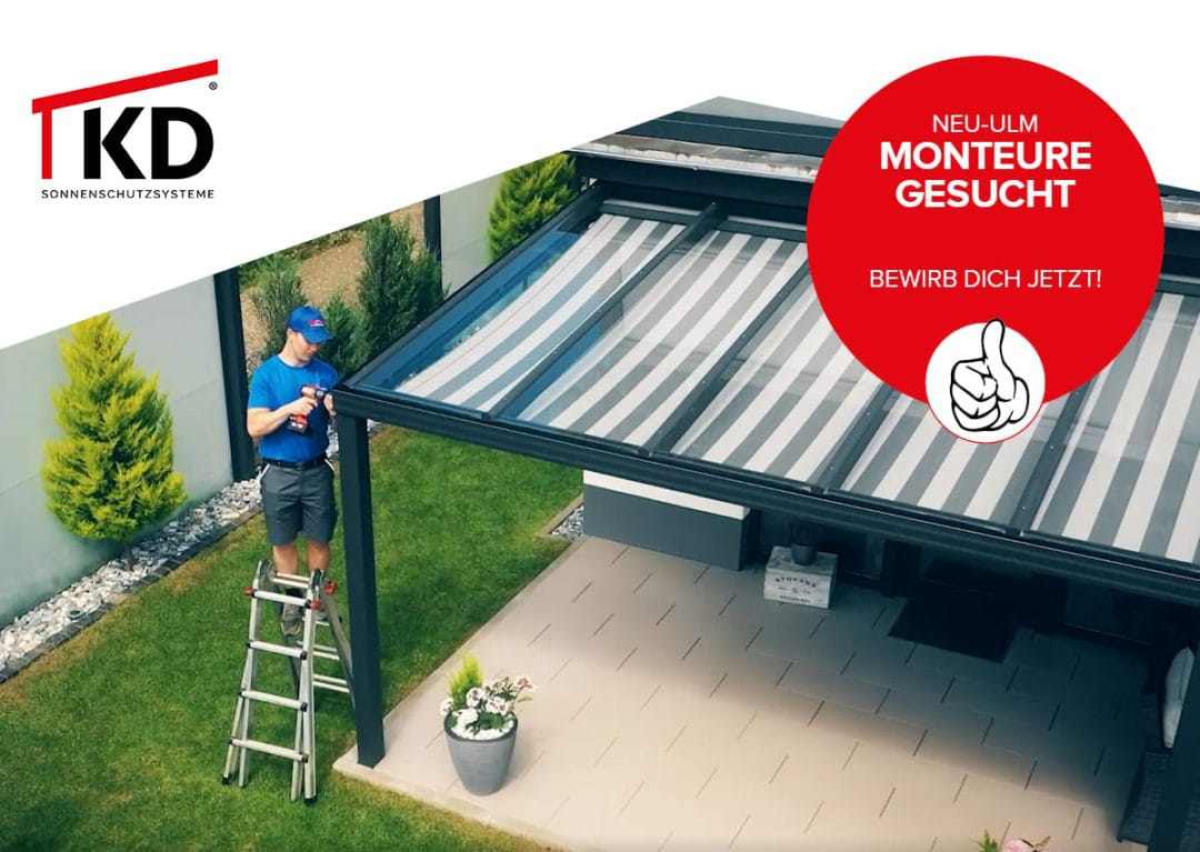 Monteur (m/w/d) – NEU ULM