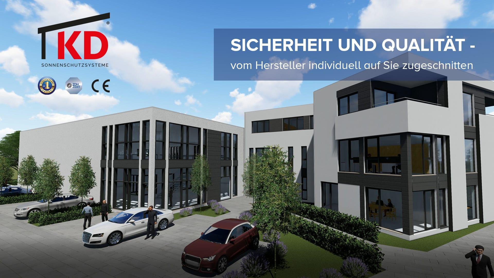 Vorschaubild V02 - Hochwertige Aluminium-Terrassenüberdachung aus eigener zertifizierten Herstellung.