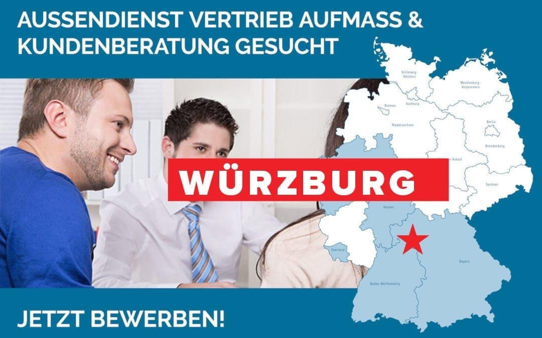 Außendienst, Vertrieb und Kundenberatung in Würzburg gesucht
