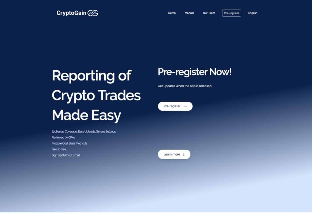 cryptogain website