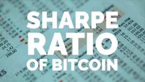 Sharpe Ratio of Bitcoin