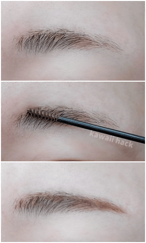 busy gal BROWS tinted brow gel使ってみた