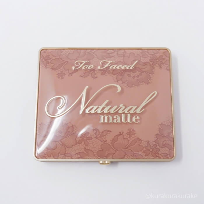 toofaced natural matte