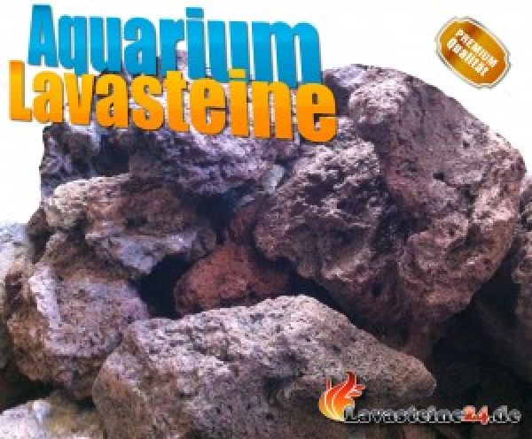 Aquarium Lavasteine L – 10-15 cm