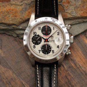 """1997 Tudor Chronograph Tiger ref. 79280 """"Opaline Panda Dial"""