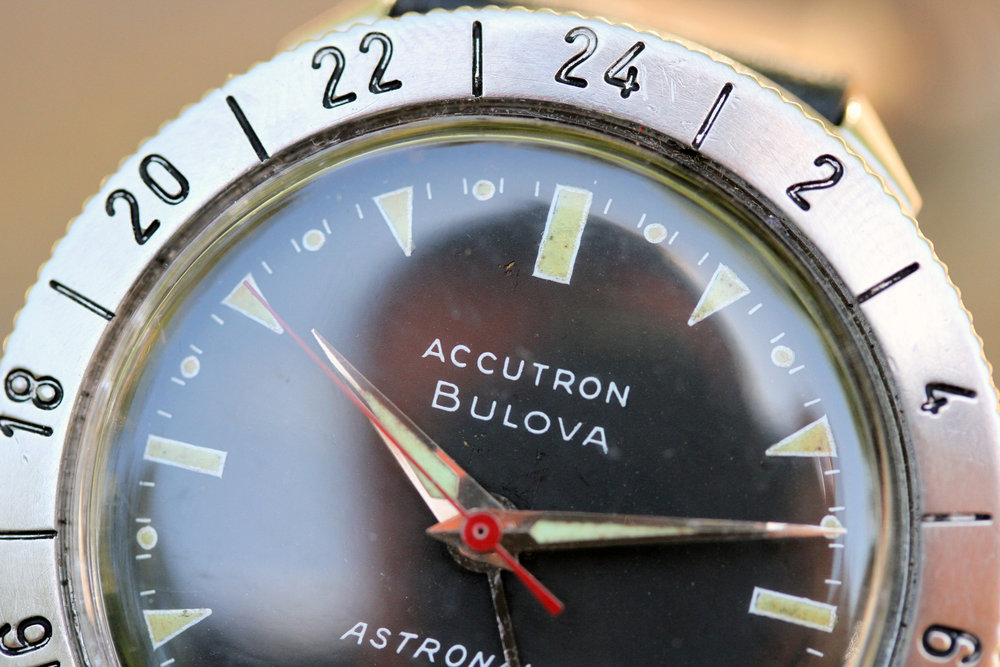 1964 Bulova Accutron Astronaut Matte Dial