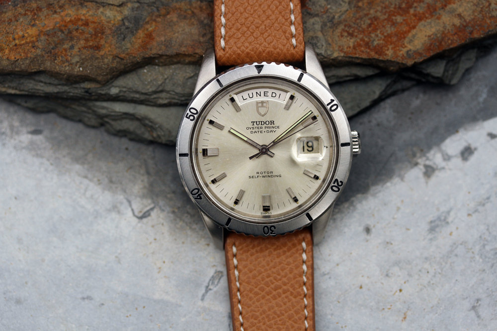 "1969 Tudor Date + Day ref. 7020 ""Silver Dial"