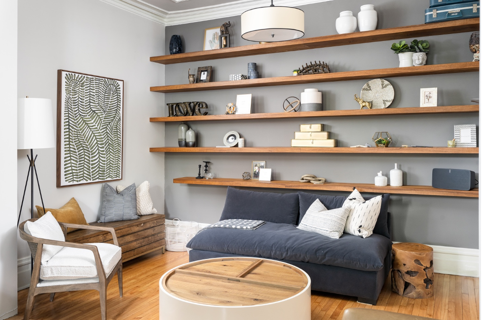 Our Tips & Tricks to Styling the Perfect Bookshelf
