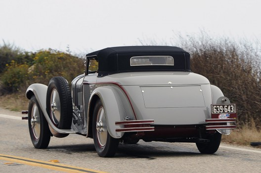 1928 Mercedes-Benz 680S Torpedo Roadster 3