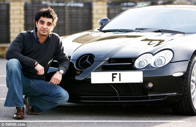Afzal Kahn - F1 plate 2