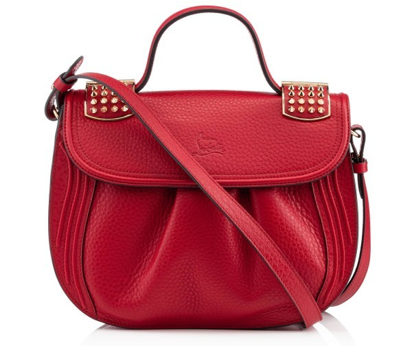 Christian Louboutin - Dompteuse Messenger red leather 3
