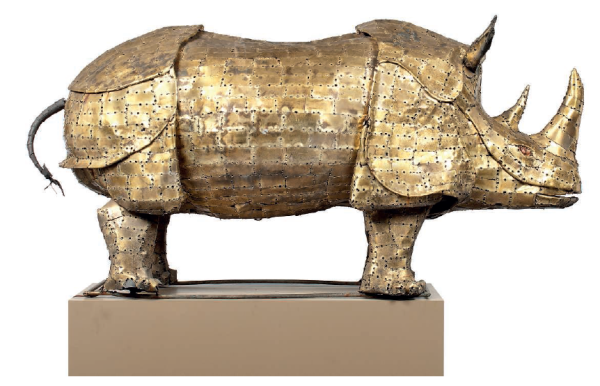 Christies - Brass Rhino