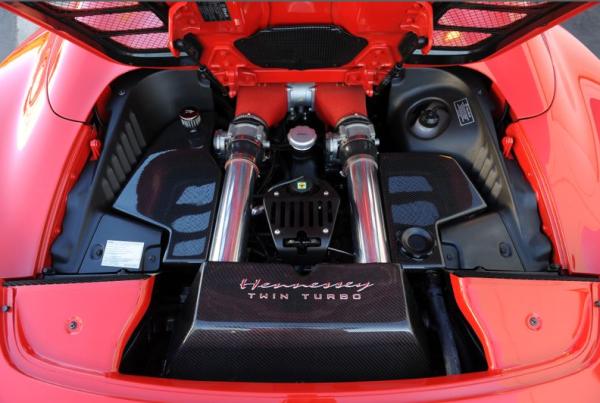 Hennessy Ferrari Twin Turbo 1