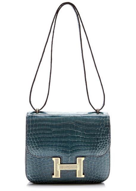 Hermès Heritage - Porosus Blue Jean 6