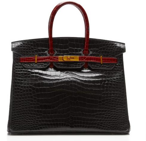 Hermès Heritage - Porosus Cricodile Birkin 3