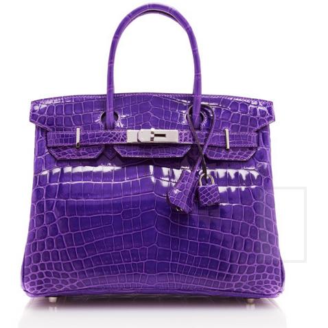 Hermès Heritage - Ultraviolet Shiny Nilo 4