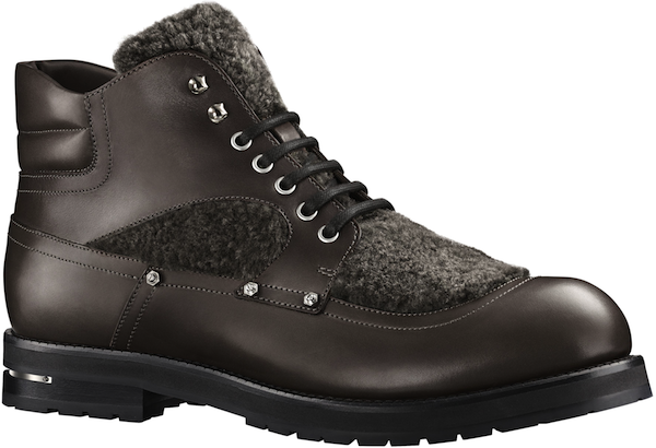 Louis Vuitton - Backpacker Ankle Boot in Shearling 10
