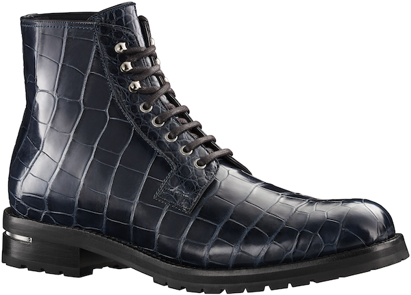 Louis Vuitton - Exodus Ankle Boot in Alligator Leather 9