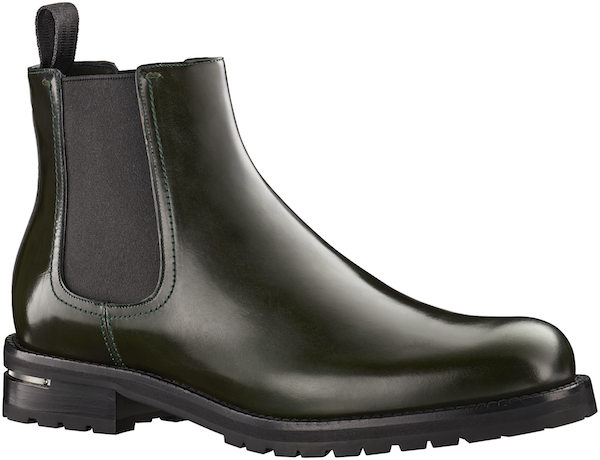 Louis Vuitton - Exodus Ankle Boot in Glazed Calf Leather 6