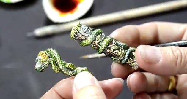 Montegrappa Handpainted Snake 2013 2