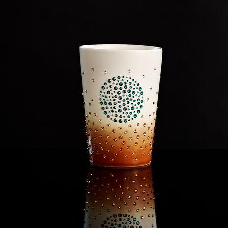 Starbucks Swarvoski pumpkin spice mug 2