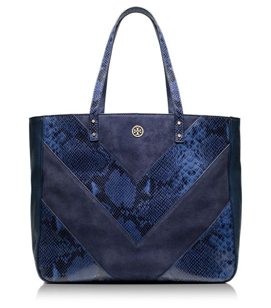 Tory Burch - Chevron tote 5