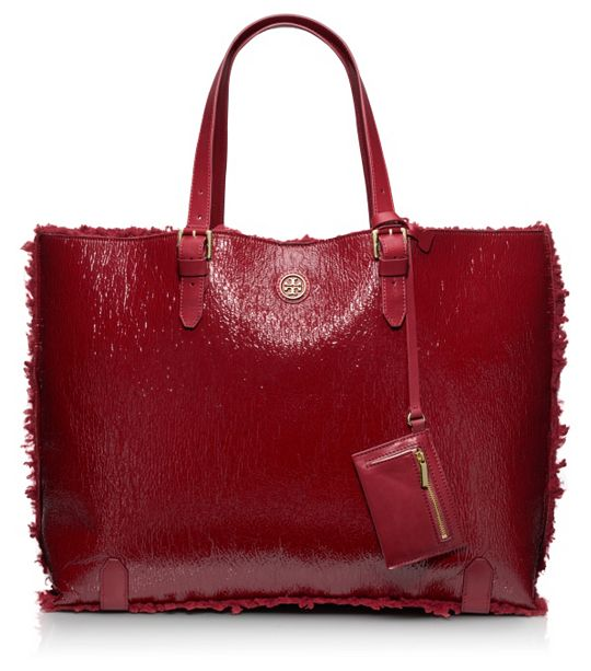 Tory Burch - Patent shearlin tote 6