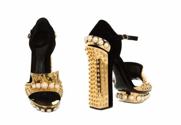Alexander McQueen - Pearl sandal 2