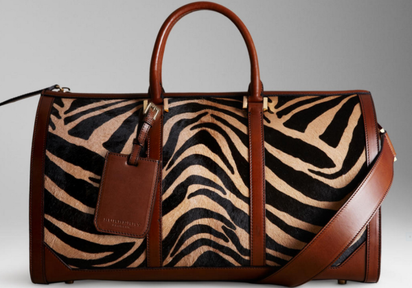 Burberry - Boston in Stripped Animal Print