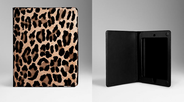 Burberry - Spotted Animal Print iPad Case