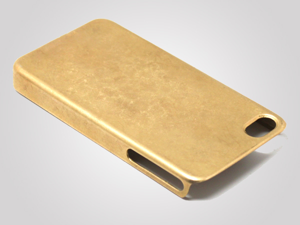 iPhone 5s cases - Miansai solid gold case 3