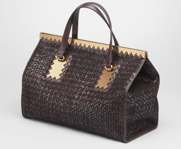 Bottega Veneta - Ebano Nero Intreccio Tricot Wool Bag 3