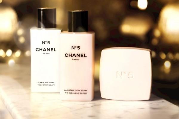 Chanel No. 5 bath products 2