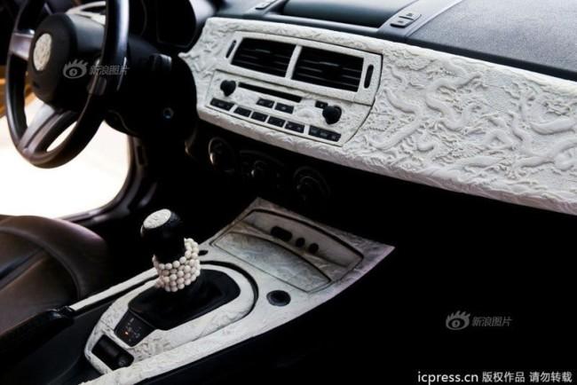 Gold BMW Z4 With Dragon - 6