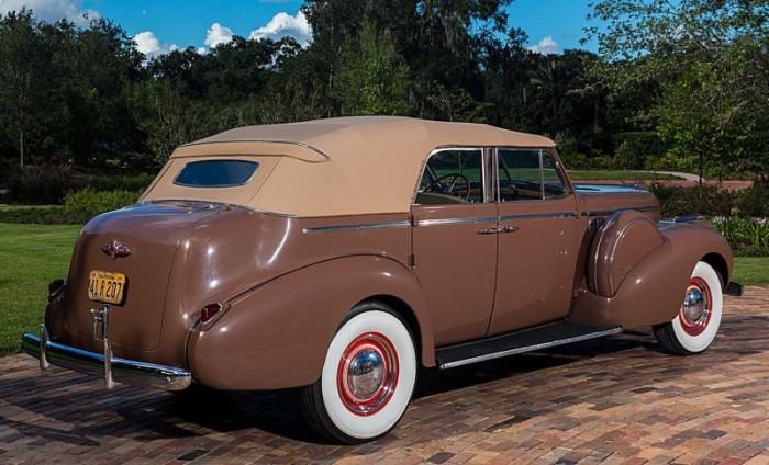 Humphrey Bogart's 1940 Buick Phaeton 4