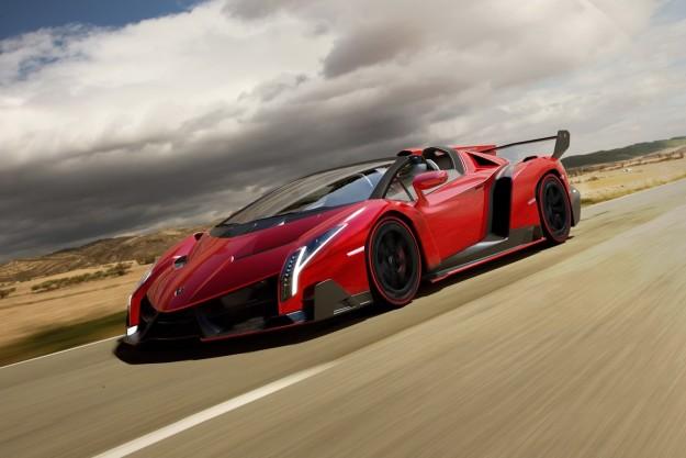 Lamborghini - Veneno Roadster 2