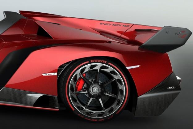 Lamborghini - Veneno Roadster 5