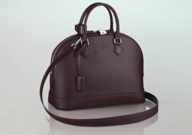 Louis Vuitton - Alma Bag in Taurillon Leather 4