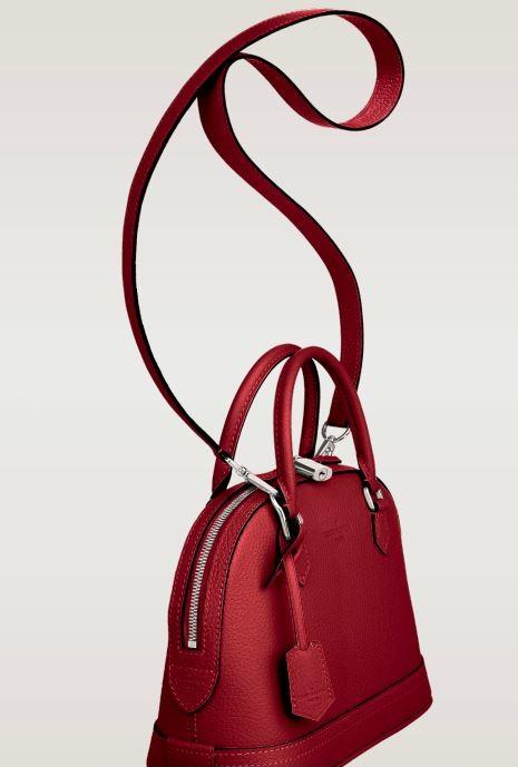 Louis Vuitton - Alma Bag in Taurillon Leather 6