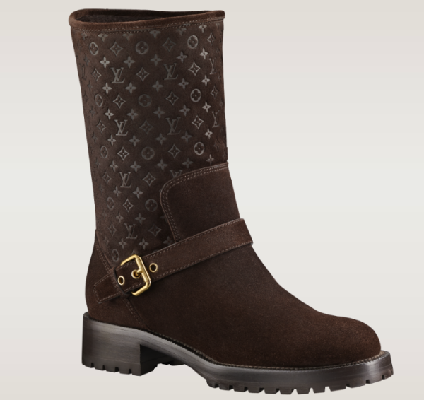 Louis Vuitton FW 2013 Womens Boots - Rebellion brown