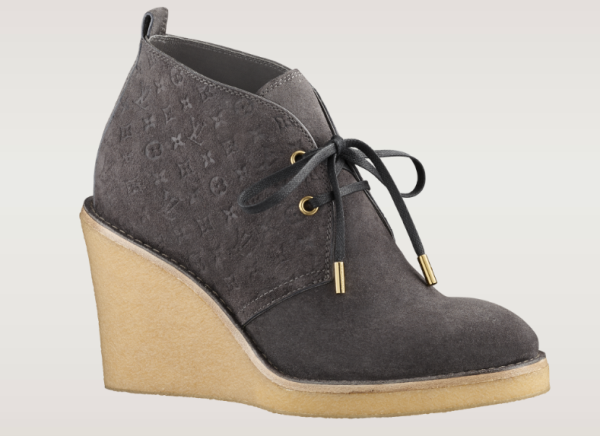Louis Vuitton FW 2013 Womens Boots - Stride Low Boot