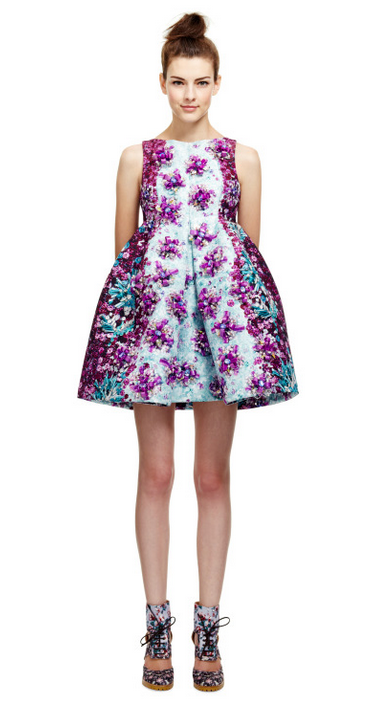 Mary Katrantzou - Ponker dress 2